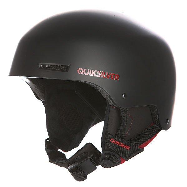Шлем для сноуборда Quiksilver Axis Tr BlackЗащитный шлем Quiksilver Axis для зимних видов спорта.Характеристики:Суперпрочная конструкция шлема изготовлена из ABS-пластика. Для данной модели также характерен амортизирующий наполнитель из пены EPS. Внутренняя поверхность шлема сделана из мягкой флисовой подкладки. Съемные мягкие ушные накладки. Регулируемый ремешок с мягкой вставкой для подбородка из шерпы. Застежка Fidlock® . Верхняя и нижняя вентиляция для лучшего воздухообмена. Вес: 550 гр.<br><br>Цвет: черный<br>Тип: Шлем для сноуборда<br>Возраст: Взрослый<br>Пол: Мужской