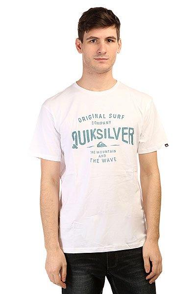 Футболка Quiksilver Claste Geeclaiit Tees White