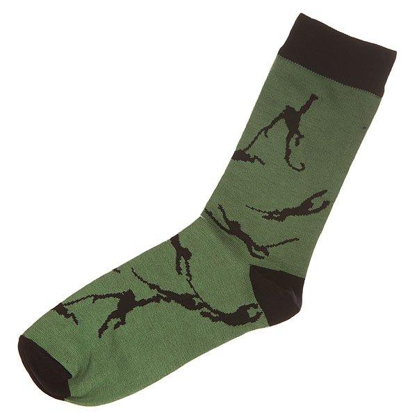 Носки средние Запорожец Обезьяна Green/Black