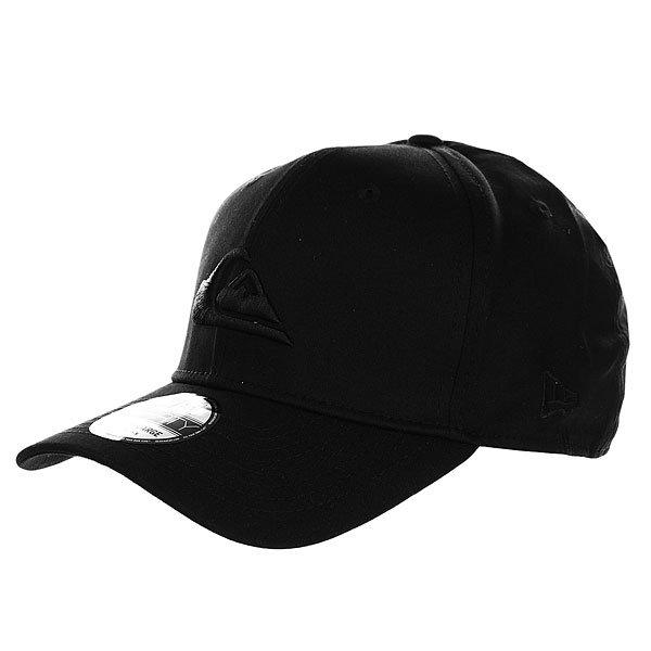 Бейсболка классическая Quiksilver M N W Black<br><br>Цвет: черный<br>Тип: Бейсболка классическая<br>Возраст: Взрослый<br>Пол: Мужской
