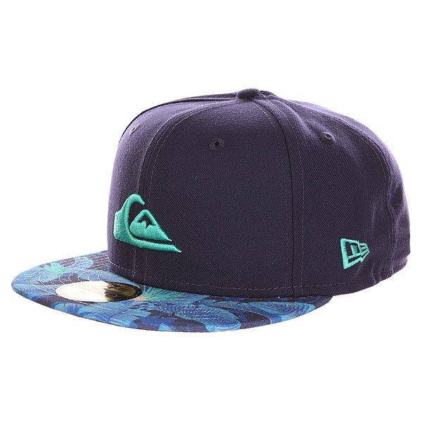 Бейсболка с прямым козырьком Quiksilver Scalpul 2 Navy Blazer<br><br>Цвет: синий<br>Тип: Бейсболка с прямым козырьком<br>Возраст: Взрослый