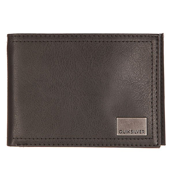 Кошелек Quiksilver Stitched Black