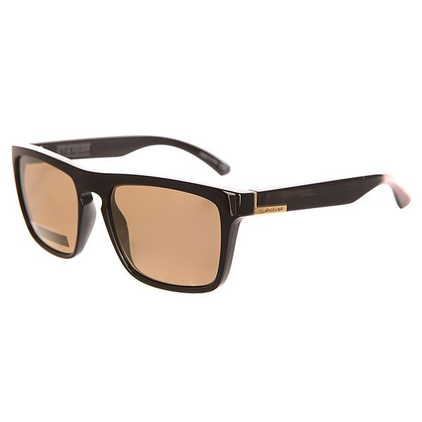 Очки Quiksilver The Ferris Black/Flash Gold