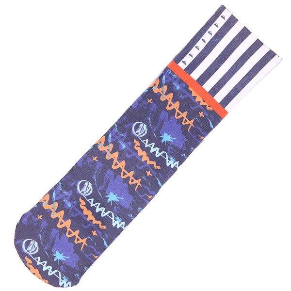 Носки средние детские Quiksilver Remix Boys Navy<br><br>Цвет: синий<br>Тип: Носки средние<br>Возраст: Детский