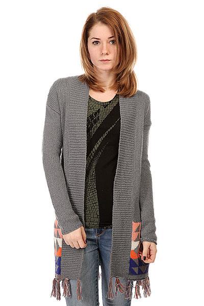 Кардиган женский Roxy Near Future Swtr Grey свитер burton leddy swtr heather grey