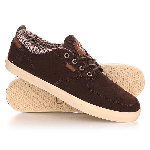 Кеды кроссовки низкие Etnies Hitch Dark Brown кеды кроссовки низкие dc wes kremer tan brown