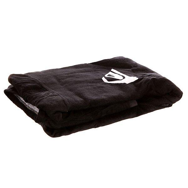 Полотенце Quiksilver Hoody Towel BlackПрактичное полотенце с капюшоном из велюровой махровой ткани  от Quiksilver.Технические характеристики: Мягкая хлопковая махровая подкладка.Мягкая махровая ткань.Капюшон.Логотип.<br><br>Цвет: черный<br>Тип: Полотенце<br>Возраст: Взрослый<br>Пол: Мужской
