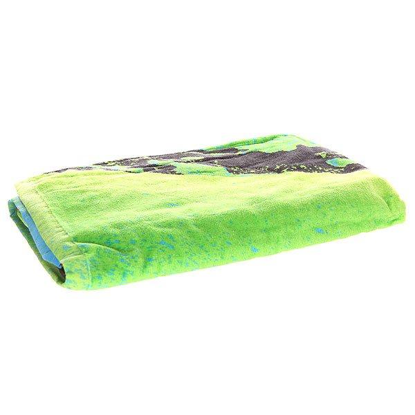 Полотенце Quiksilver Freshness Towel Fiery CoralУниверсальное мягкое пляжное полотенце, которое также можно использовать как пляжный коврик.Технические характеристики: Можно использовать как пляжный коврик.Мягкий хлопок.Двойной графический принт из коллекции Boardshort.Логотип.<br><br>Цвет: зеленый,мультиколор<br>Тип: Полотенце<br>Возраст: Взрослый<br>Пол: Мужской
