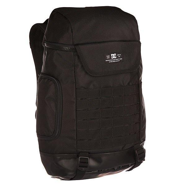 Рюкзак туристический DC Rucky Iii BlackПрактичный туристический рюкзак со множеством карманов и отделений, в которых можно разместить все необходимые для комфортного путешествия вещи.Технические характеристики: Одно просторное основное отделение на молнии.Отсек для ноутбука.Два боковых кармана.Внешний карман на молнии.Регулируемые эргономичные лямки с уплотнителем.Горизонтальный нагрудный стреп для более равномерного распределения нагрузки.Уплотненная спинка.<br><br>Цвет: черный<br>Тип: Рюкзак туристический<br>Возраст: Взрослый