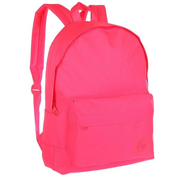 Рюкзак городской женский Roxy Sugar Baby Plai Pop Pink