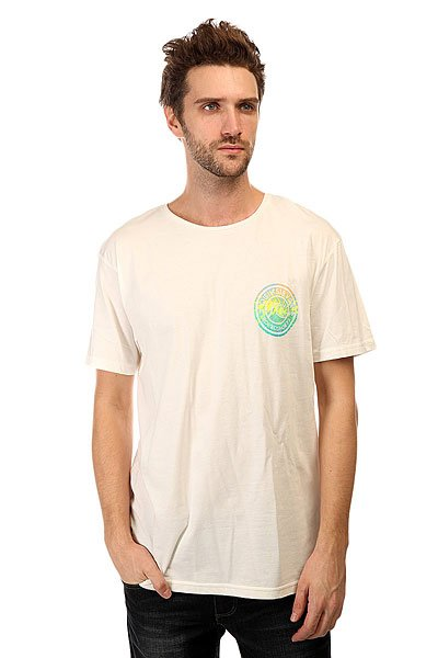 Футболка Quiksilver Gardyed Pira Tees Snow White