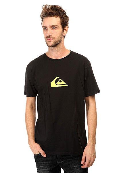 Футболка Quiksilver Class Every Day Mw Tees BlackКоллекция футболок от Quiksilver представлена яркими и насыщенными цветами, креативными принтами, а также легкими натуральными тканями.Технические характеристики: Короткие рукава.Отделка воротника трикотажной резинкой.Свободный крой.Логотип на груди.<br><br>Цвет: черный<br>Тип: Футболка<br>Возраст: Взрослый<br>Пол: Мужской