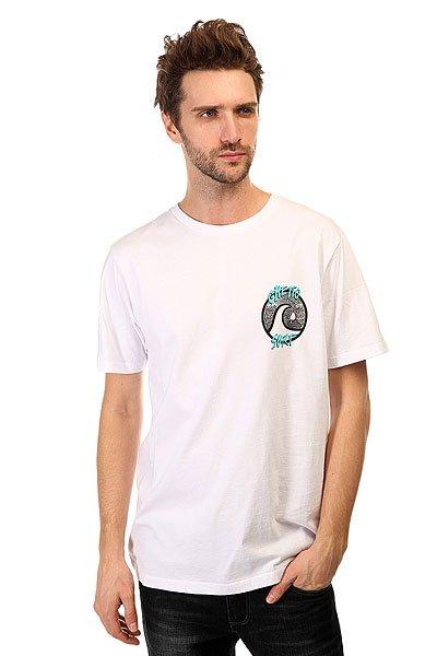 Футболка Quiksilver Ghet To surfs Tees White футболка quiksilver checker pasts tees flint stone