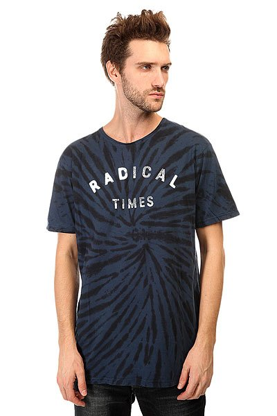 Футболка Quiksilver Radical Tiess Tees Dark Denim