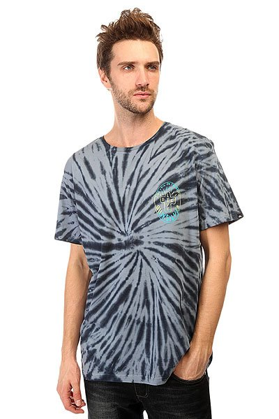 Футболка Quiksilver Live And Dyess Tees Dark Denim
