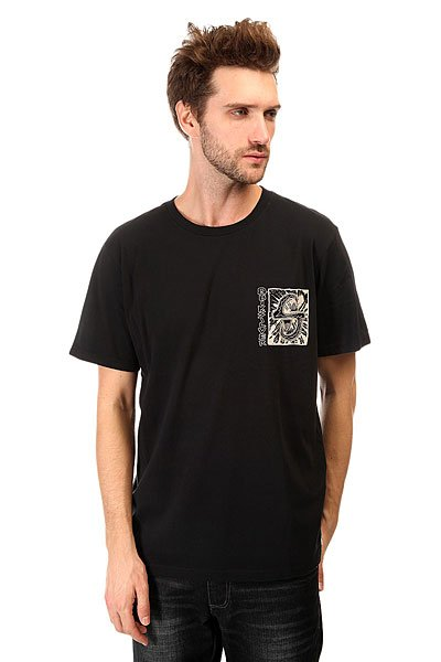 Футболка Quiksilver White Lights Tees Black