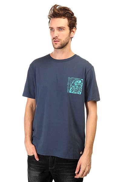 Футболка Quiksilver White Lights Tees Dark Denim