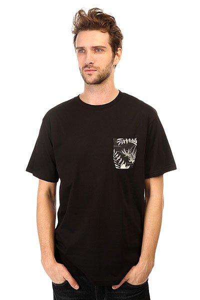 Футболка DC Woodglen Kttp Cruiser Island BlackМужская футболка в однотонной цветовой гамме с нагрудным карманом от DC Shoes.Технические характеристики: Короткие рукава.Свободный крой.Нагрудный карман.Боковые разрезы.Декоративная вставка на спине с тропическим принтом.<br><br>Цвет: черный<br>Тип: Футболка<br>Возраст: Взрослый<br>Пол: Мужской