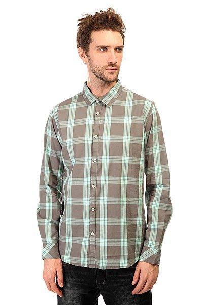 Рубашка в клетку Quiksilver Atlantic Jungle Wvtp Atlantic Jungle Cast рубашка в клетку dc atura 3 atura black
