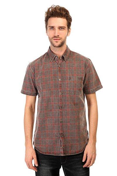 Рубашка в клетку Quiksilver Prelock Wvtp Prelock Rosewood рубашка в клетку quiksilver motherflyfla black