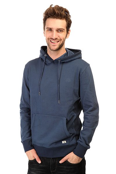 Толстовка кенгуру Quiksilver Essential Hood Otlr Dark Denim