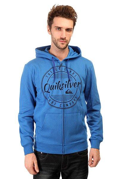 Толстовка классическая Quiksilver Looking For it Otlr Victoria Blue
