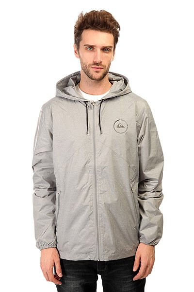 Ветровка Quiksilver Everyday Jacket Light Grey Heather
