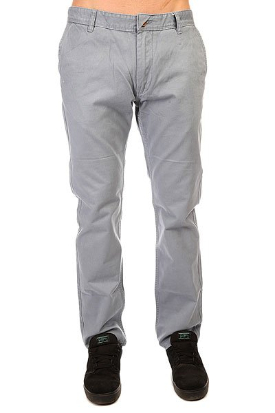 Штаны прямые Quiksilver Everyday Chino Ndpt Flint Stone