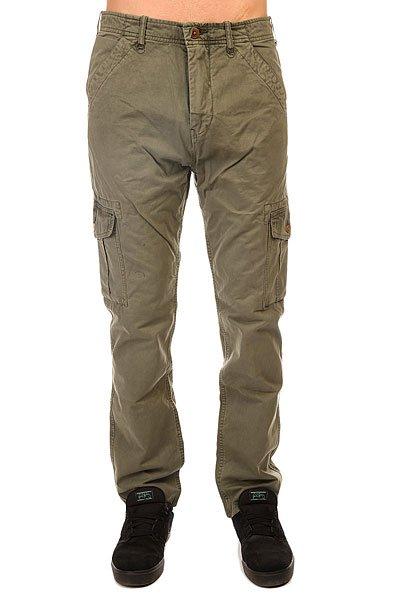 Штаны прямые Quiksilver Everyday Cargo Ndpt Dusty OliveБрюки-карго Everyday от Quiksilver имеют прямой крой и множество удобных карманов, среди которых большие глубокие карманы с клапанами по бокам. Сшитые из хлопковой саржи, такие брюки будут удобны как для катания, так и для повседневной носки. Если Вам близок милитари-стиль с его функциональными предметами одежды, то эти брюки - идеальный кандидат на пост заслуженного любимца в Вашем повседневном гардеробе.Характеристики:Прямой крой. Ширинка на молнии и пуговице. Два передних и два задних кармана. Глубокие накладные карманы сбоку с клапанами. Петли для ремня. Плотность ткани: 227 г/кв. м.<br><br>Цвет: зеленый<br>Тип: Штаны прямые<br>Возраст: Взрослый<br>Пол: Мужской