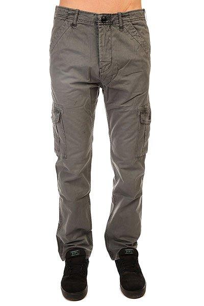Штаны прямые Quiksilver Everyday Cargo Ndpt Dark ShadowБрюки-карго Everyday от Quiksilver имеют прямой крой и множество удобных карманов, среди которых большие глубокие карманы с клапанами по бокам. Сшитые из хлопковой саржи, такие брюки будут удобны как для катания, так и для повседневной носки. Если Вам близок милитари-стиль с его функциональными предметами одежды, то эти брюки - идеальный кандидат на пост заслуженного любимца в Вашем повседневном гардеробе.Характеристики:Прямой крой. Ширинка на молнии и пуговице. Два передних и два задних кармана. Глубокие накладные карманы сбоку с клапанами. Петли для ремня. Плотность ткани: 227 г/кв. м.<br><br>Цвет: серый<br>Тип: Штаны прямые<br>Возраст: Взрослый<br>Пол: Мужской
