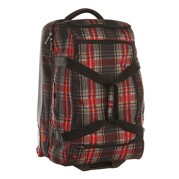 Сумка дорожная Burton Wheelie Cargo Black Plaid