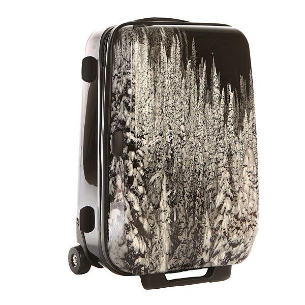 Сумка дорожная Burton Air 20 RevelstokeДорожная сумка в легком дизайне для комфортных путешествий.Технические характеристики: Легкое и прочное покрытие из пластика ABS для защиты багажа.Легкие, подвижные колеса.Мягкая подкладка.Верхняя и боковая ручки.Телескопическая ручка.Контрастный сплошной принт.<br><br>Цвет: черный,белый<br>Тип: Сумка дорожная<br>Возраст: Взрослый<br>Пол: Мужской