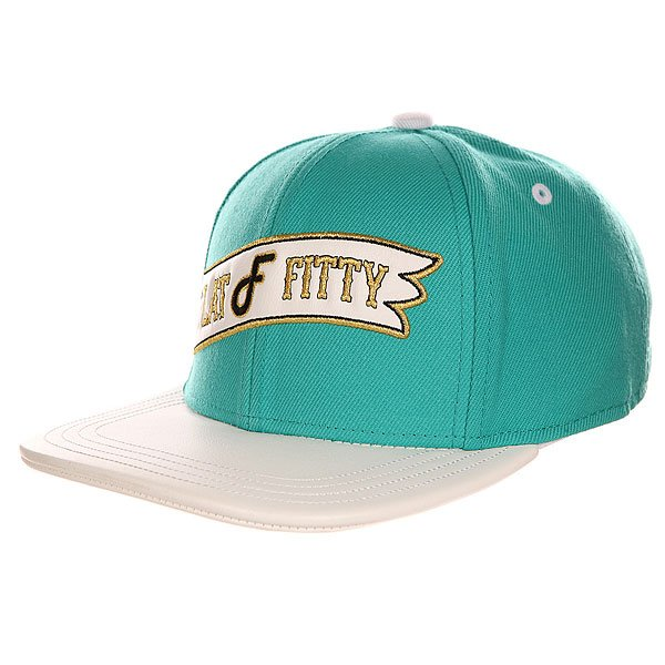 ��������� � ������ ��������� Flat Fitty Retro Flag Strap Back Teal