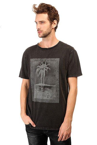 Футболка Quiksilver Postcard Tees Black модные футболки