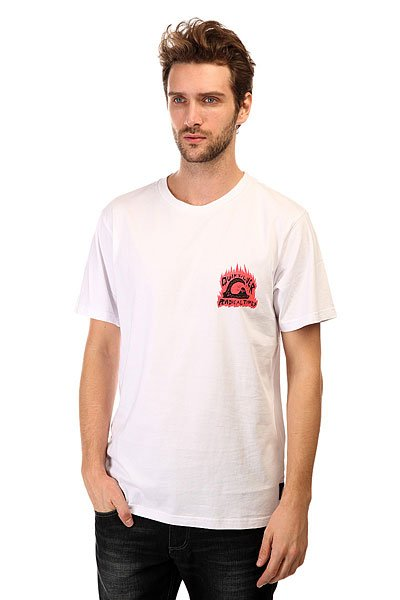 Футболка Quiksilver Swean Sours Tees White
