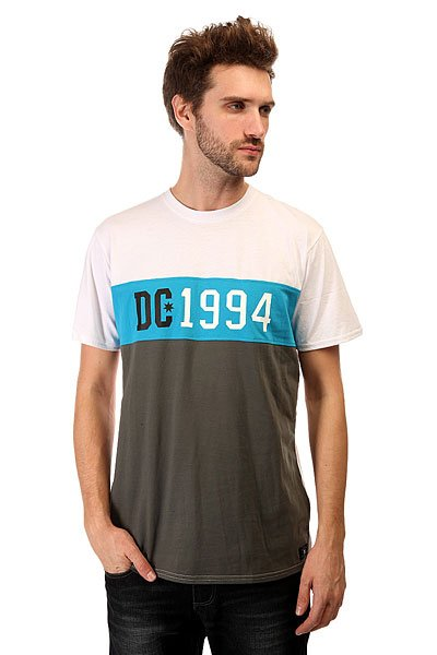 Футболка DC 1994 Est Knit Kttp Dark Shadow