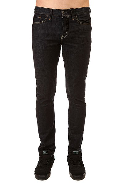 Джинсы узкие DC Worker Slim Jea Pant Indigo Rinse джинсы узкие dc washed slim jea pant light stone