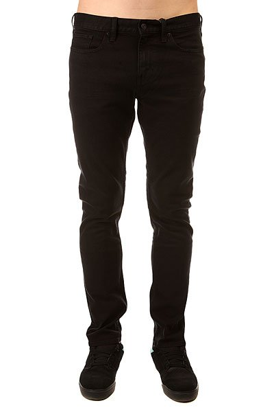 Джинсы узкие DC Worker Slim Jea Pant Black Rinse