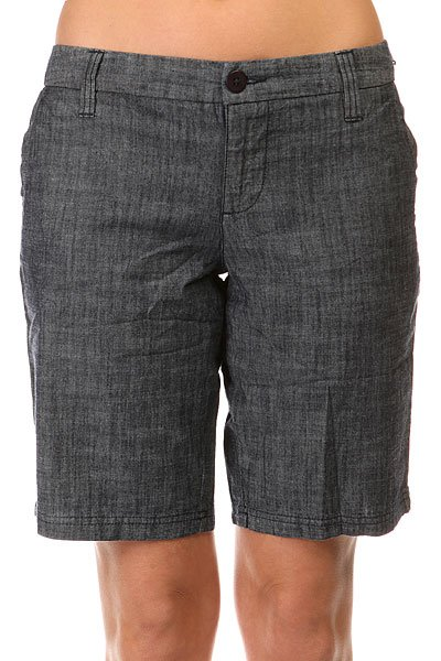 ����� ������������ ������� Burton Wmn Walker Short Dark Chambray