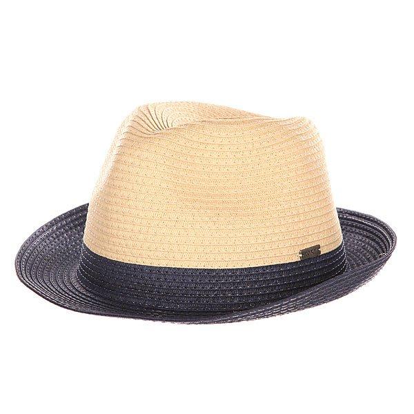 Шляпа женская Roxy Monoi EclipseУдобная летняя шляпка добавит изюминку вашему стилю.Характеристики:Плетеный дизайн. Металлический логотип на боковой части. Широкие поля с отворотом.<br><br>Цвет: бежевый,синий<br>Тип: Шляпа<br>Возраст: Взрослый<br>Пол: Женский