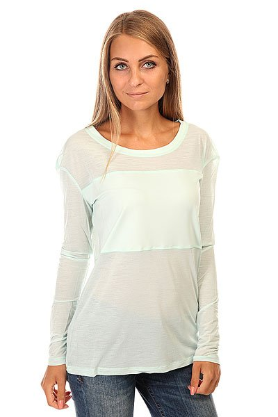 Лонгслив женский Roxy Devotee Ls Tee J Kttp Soothing Sea жакет top secret top secret to795ewuqe02