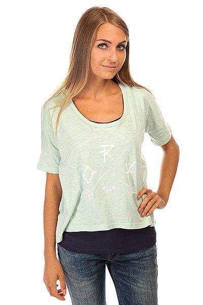 Футболка женская Roxy Parson J Kttp Harbor GrayМодная футболка на лето с двуслойным фасоном.Характеристики:Широкий крой. Двуслойный фасон.Короткие рукава. Круглый вырез. Графический принт. Заниженная линия плеч.<br><br>Цвет: синий,голубой<br>Тип: Футболка<br>Возраст: Взрослый<br>Пол: Женский