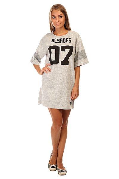������ ������� DC Loose Dress J Ktdr Light Heather Grey