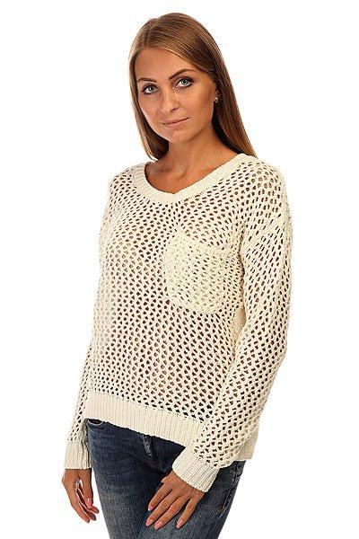 Свитер женский Roxy Turnabout J Swtr Sand PiperМодный женский свитер для прохладных деньков.Характеристики:Свободный крой. Круглый вырез.Длинные рукава. Спущенное плечо. Карман на груди. Эластичные манжеты и подол.<br><br>Цвет: бежевый<br>Тип: Свитер<br>Возраст: Взрослый<br>Пол: Женский