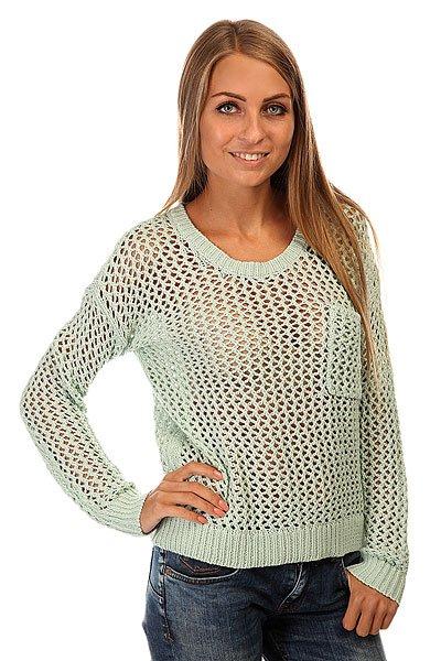 Свитер женский Roxy Turnabout J Swtr Harbor GrayМодный женский свитер для прохладных деньков.Характеристики:Свободный крой. Круглый вырез.Длинные рукава. Спущенное плечо. Карман на груди. Эластичные манжеты и подол.<br><br>Цвет: голубой<br>Тип: Свитер<br>Возраст: Взрослый<br>Пол: Женский