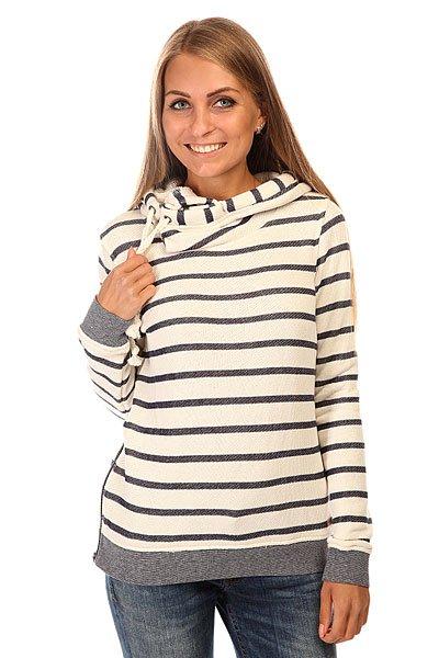 Толстовка классическая женская Roxy Sharingsong J Otlr Adelaide Stripe Comb Grey