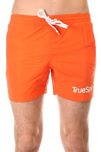 ����� ������� TrueSpin Swimming Shorts Splash One Orange