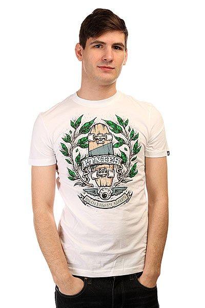 Футболка Etnies Spruce Tee WhiteСтильная мужская футболка с ярким скейтбордическим принтом на груди от известного бренда Etnies.Технические характеристики: Короткий рукав.Приталенный крой.Яркий принт на груди.<br><br>Цвет: белый<br>Тип: Футболка<br>Возраст: Взрослый<br>Пол: Мужской