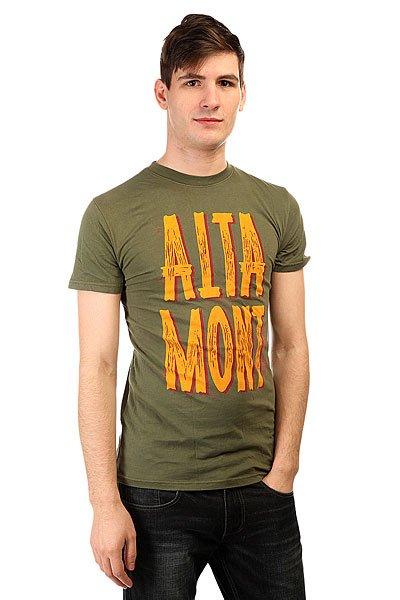 Футболка Altamont Repro Tee Fatigue altamont футболка altamont stacked basic tee oxblood