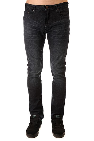 Штаны узкие Emerica Pure Slim Denim Worn Indigo